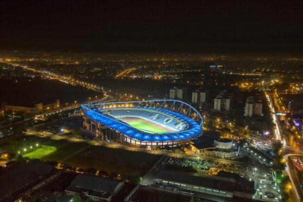 Lighting Of Imam Reza Stadium