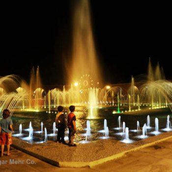Musical Fountain Of Valiasr Park – Video