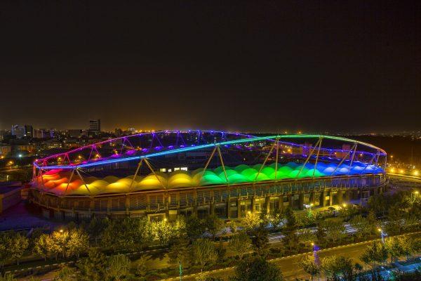 Lighting Of Imam Reza Stadium-Mashhad