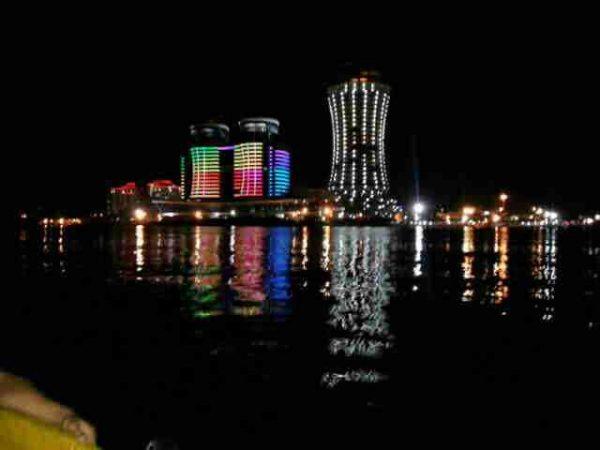 نورپردازی برجهای مسکونی قو